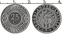 Изображение Монеты Антильские острова 25 центов 1998 Медно-никель UNC- Герб