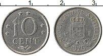 Изображение Монеты Антильские острова 10 центов 1976 Медно-никель XF