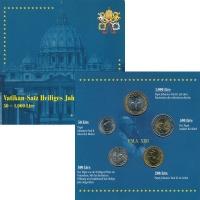 Изображение Подарочные монеты Ватикан Набор 2000 года 2000  UNC