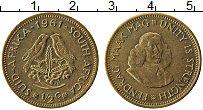 Изображение Монеты ЮАР 1/2 цента 1961 Латунь XF+
