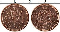 Изображение Монеты Барбадос 1 цент 2005 Бронза UNC-