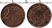 Изображение Монеты Эстония 2 евроцента 2012 Бронза UNC
