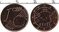 Изображение Монеты Эстония 1 евроцент 2012 Бронза UNC