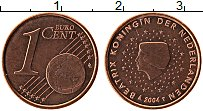 Изображение Монеты Нидерланды 1 евроцент 2004 Бронза UNC-