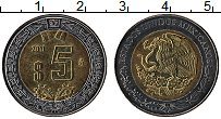 Изображение Монеты Мексика 5 песо 2011 Биметалл UNC-