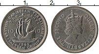 Изображение Монеты Карибы 10 центов 1965 Медно-никель XF