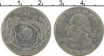 Изображение Монеты США 1/4 доллара 1999 Медно-никель UNC-
