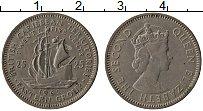Изображение Монеты Карибы 25 центов 1962 Медно-никель XF