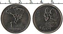 Изображение Монеты Бразилия 1 крузейро 1972 Сталь UNC- 150 лет Независимост