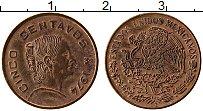 Изображение Монеты Мексика 5 сентаво 1974 Бронза XF Хосефа Ортис де Доми