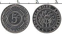 Изображение Монеты Антильские острова 5 центов 2012 Алюминий UNC