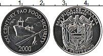 Изображение Монеты Панама 1 сентесимо 2000 Алюминий UNC