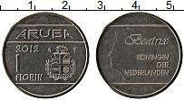 Изображение Монеты Аруба 1 флорин 2012 Медно-никель UNC-