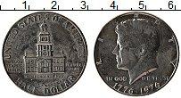 Изображение Монеты США 1/2 доллара 1976 Медно-никель UNC-