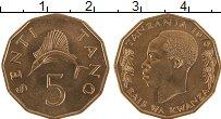 Изображение Монеты Танзания 5 сенти 1976 Бронза UNC-
