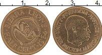 Изображение Монеты Сьерра-Леоне 1/2 цента 1964  UNC- Милтон Маргаи