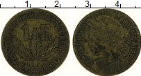 Изображение Монеты Камерун 1 франк 1924 Латунь XF