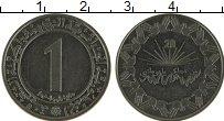 Изображение Монеты Алжир 1 динар 1983 Медно-никель XF