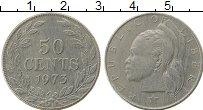 Изображение Монеты Либерия 50 центов 1973 Медно-никель XF