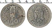 Изображение Монеты Новые Гебриды 100 франков 1966 Серебро XF