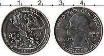 Изображение Монеты США 1/4 доллара 2012 Медно-никель UNC-