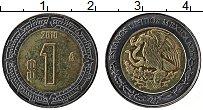 Изображение Монеты Мексика 1 песо 2010 Биметалл UNC-