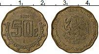 Изображение Монеты Мексика 50 сентаво 2004 Латунь XF