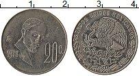 Изображение Монеты Мексика 20 сентаво 1978 Медно-никель XF Франциско Мадеро
