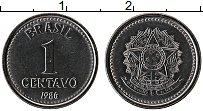 Изображение Монеты Бразилия 1 сентаво 1986 Сталь UNC