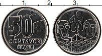Изображение Монеты Бразилия 50 сентаво 1989 Сталь UNC