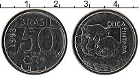 Изображение Монеты Бразилия 50 крузейро 1993 Сталь UNC