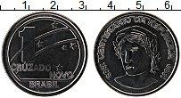 Изображение Монеты Бразилия 1 крузадо 1989 Сталь UNC 100-летие Республики