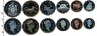 Изображение Наборы монет Канада Канада 1995 1995  Proof- В наборе 6 монет ном