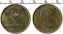 Изображение Монеты Канада 1 доллар 2017 Латунь UNC Елизавета II. 150 ле