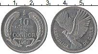 Изображение Монеты Чили 10 песо 1958 Алюминий XF
