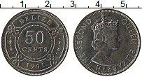 Продать Монеты Белиз 50 центов 1991 Медно-никель