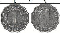 Изображение Монеты Белиз 1 цент 1998 Алюминий XF Елизавета II.