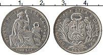 Изображение Монеты Перу 1/5 соля 1903 Серебро XF