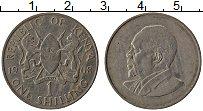 Изображение Монеты Кения 1 шиллинг 1968 Медно-никель XF