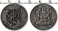 Изображение Монеты ЮАР 50 центов 1983 Медно-никель UNC-