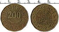 Изображение Монеты Тунис 200 миллим 2013 Латунь XF
