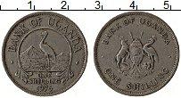 Изображение Монеты Уганда 1 шиллинг 1976 Медно-никель XF