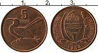 Продать Монеты Ботсвана 5 тебе 1991 сталь покрытая латунью