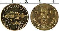 Продать Монеты Кабинда 5 авос 2009 Медно-никель