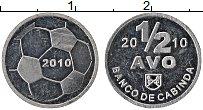 Продать Монеты Кабинда 1/2 аво 2010 Алюминий
