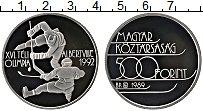 Изображение Монеты Венгрия 500 форинтов 1989 Серебро Proof