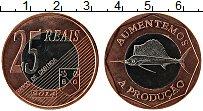 Продать Монеты Кабинда 25 реалов 2014 Биметалл
