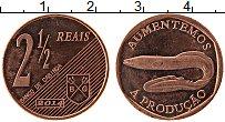 Продать Монеты Кабинда 2 1/2 реала 2014 Бронза