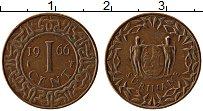 Изображение Монеты Суринам 1 цент 1966 Медь XF