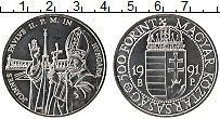 Изображение Монеты Венгрия 500 форинтов 1991 Серебро UNC-